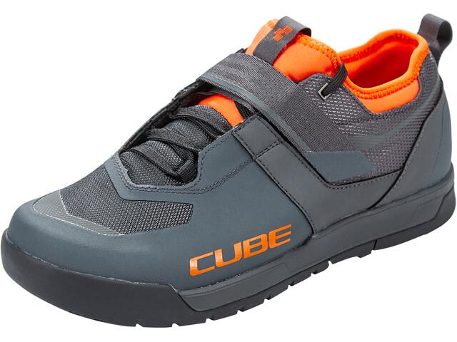 Cube GTY Strix Schoenen, grey'n'orange